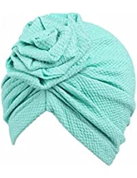 Bonnet Bebe, Tpulling Enfants bébé filles Bohème chapeau écharpe bonnet  foulard turban tête Wrap 64cba0e24e6