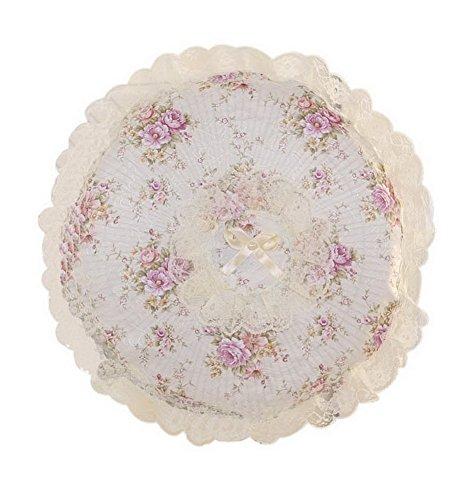 Tissu Tout-inclus de plancher Housse de protection pour ordinateur de bureau ronde Seasons Blossom
