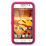 Best GALAXY WIRELESS Cases For Galaxy Core Primes - Eagle Cell Hybrid Skin Case Cover with St Review
