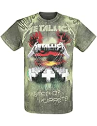 Metallica Master Of Puppets - Allover T-shirt anthracite