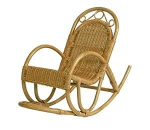 Kinderschaukelstuhl schaukelstuhl aus rattan farbe honig for Schaukelstuhl essen