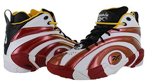 Reebok Shaqnosis Og chaussure de basket Black-Red-Wht-Yellow