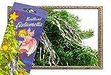 * Stanniol Eislametta Lametta Baumdeko Baumbehang Christbaumschmuck (silber)