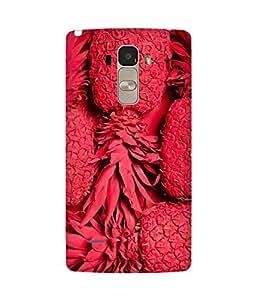 Red Pineapple Back Cover Case for LG G4 Stylus