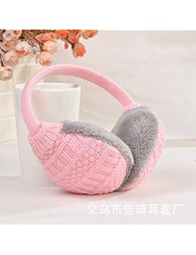 Nuove cuffie in maglia creative rimovibile e lavabile uomini e donne protezione auricolare cuffie caldo autunno...