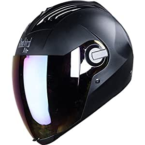 Steelbird Air SBA-2 Dashing Black with Silver Visor,580 mm