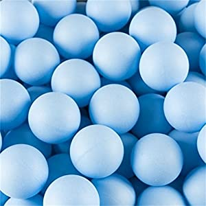 Dr Nezix 150Pcs Scrub 40mm Tischtennisbälle, Fortgeschrittene Training Ping Pong Bälle Lotterie Bälle (Praxis Ping-Pong Ball)