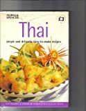 Front cover for the book Thai - simple and delicious easy-to-make recipes by Lesley Mackley