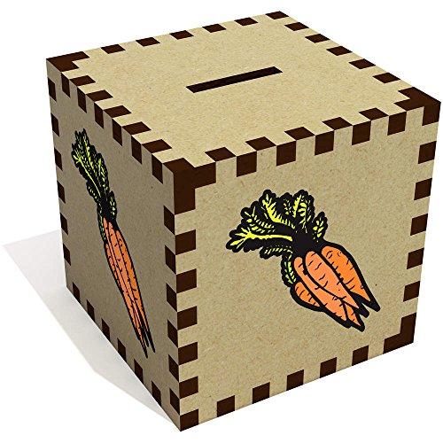 Azeeda 'Bündel Karotten' Sparbüchse / Spardose (MB00064979) (Nur Genug Karotten)