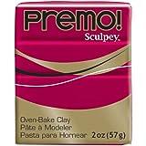 "SCULPEY Pâte à modeler ""Premo"" 57 g Carmin..."