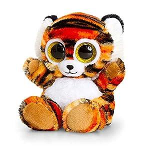 Keel Toys SF0444 Tigre de Peluche Animotsu de 15 cm
