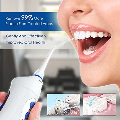 LifeBasis tragbarer Zahnreiniger zahnmedizinische orale Munddusche - 5