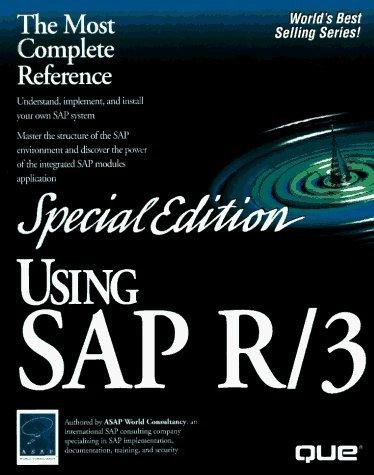 Special Edition Using Sap R/3 by Asap World Consultancy, Jonathon Blain (1996) Hardcover