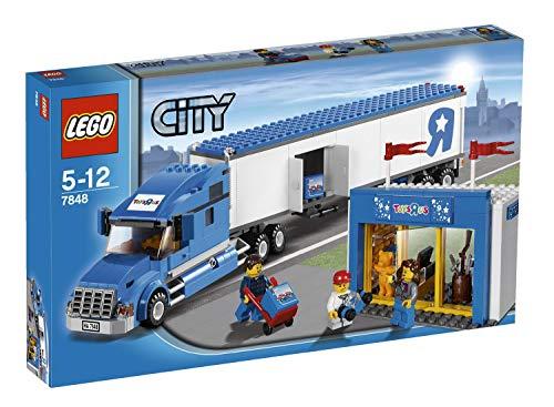 LEGO 7848 Toys 'R' Us Truck - Gebraucht 100% komplett mit Anleitungen, aber ohne Box. (Lego Toys R Us Truck)