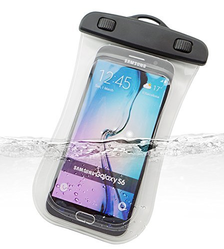 Preisvergleich Produktbild Dolder Arc Shape Wasserchite Handyhülle Tasche für Apple iPhone 6S,6,5S,5,5C,SE,4,4S und andere 4.3~5.1 zoll Smartphone wie Samsung Galaxy S7/S6/S5/S4/S3/Mini, HTC One M7/M8/M9/Mini,Desire, LG Nexus 5, Sony Xperia XA/Xpirea X/Xperia X Performance/Z5 Compact/Z3 Compact , Huawei Honor 6/Ascend P8 Lite/P7, Google Nexus 4/5, Blackberry Passport, Nokia Lumia 1020/930/630, Motorola Moto E/MOTO G/MOTO X,usw. Transparent