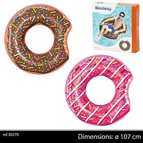 Bestway Schwimmring Donut, 107 cm, Sortiert