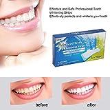 28pcs/14PAIR 3D White gel denti strisce sbiancanti igiene orale cura doppio elastico sbiancamento dei denti strisce dentale sbiancamento Tools