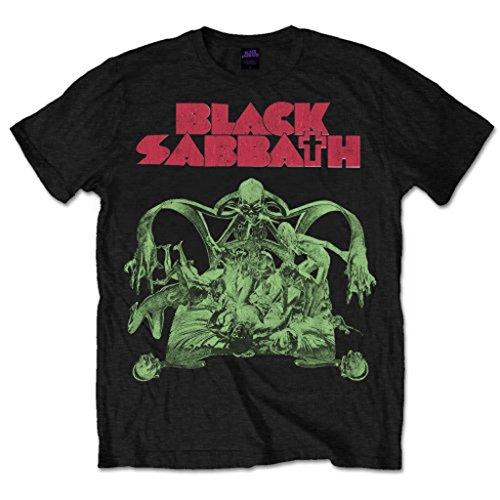 Black Sabbath Bloody Sabbath 2 Ozzy Osbourne oficial Camiseta para hombre (Medium)