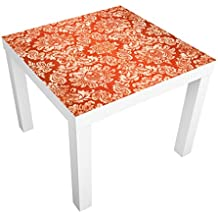 Vinilo adhesivo para muebles IKEA - Lack table Baroque Wallpaper, Größe:55cm x 55cm