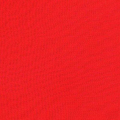 Chiffon, uni, rot, ca. 145 cm breit, Meterware