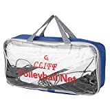 Zer one Volleyballnetz, Standardgröße Volleyballnetz mit Aufbewahrungstasche für Beach Game Indoor Match