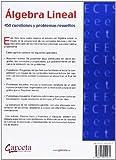 Image de Álgebra Lineal: 449 cuestiones y problemas resueltos (Texto (garceta))