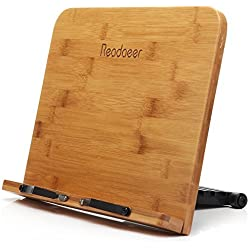 Readaeer --Soporte de libro para lectura, Bambú Natural, Perfecto elige para los lectores