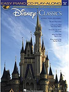 Easy Piano CD Play-Along Volume 23: Disney Classics - Partitions, CD