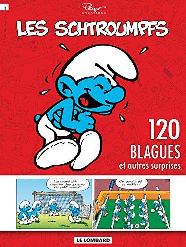 Schtroumpfs (120 Blagues) - tome 1 - 120 blagues et autres surprises T1