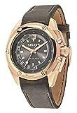 Sector R3251581002 - Reloj con correa de piel para hombre, color marrón / gris