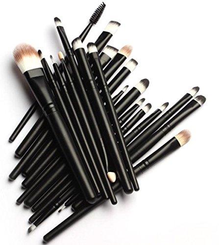 TopSuper Pro 20 pennelli da trucco Foundation Ombretto in polvere e Pennello per Eyeliner