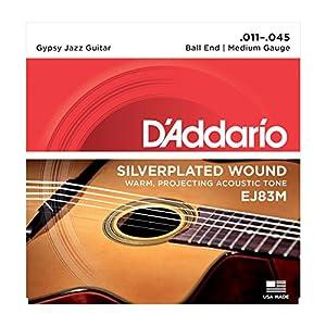 D'Addario EJ83M Set Corde Acustica Jipsy Jazz