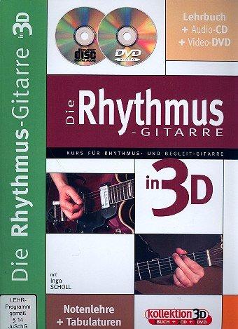 Die Rhythmus-Gitarre in 3D +CD+DVD (Funk-rhythmus-gitarre)