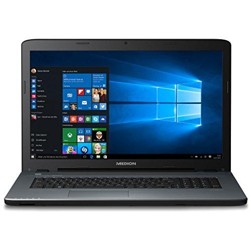 MEDION P7649 43,9 cm (17,3 Zoll Mattes Full HD Display) Notebook (Intel Core i5-8250U, 8GB RAM, 1,5TB HDD, 128GB SSD, NVIDIA GeForce 940MX, DVD, Win 10 Home) Anthrazit
