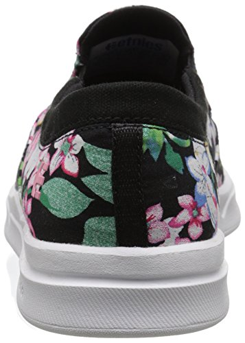 Etnies, Mocassini donna Nero (Black/Floral)
