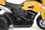 Talson Kindermotorrad in Schwarz-Gelb - 3
