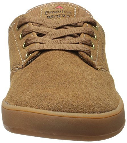 Emerica Laced By Leo Romero-M, Baskets mode homme Brown/Brown/Gum