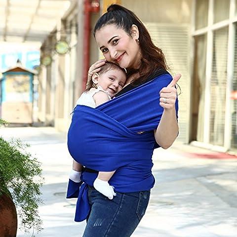 jysport pour bébé/Kangourou Entretien: écharpe en coton bio–élasthanne. Premium en