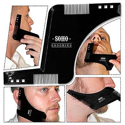 Soho Grooming Shape your beard to perfection with the advanced Soho beard shaper comb