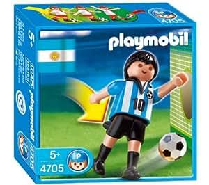 PLAYMOBIL Sports et Action - Le football - Joueur équipe Argentine - 4705
