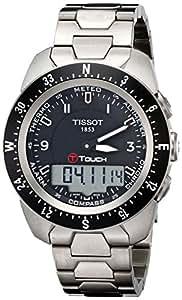 Tissot Hommes T0134204405700 T-Touch Expert Pilot noire tactile cadran analogique-numérique