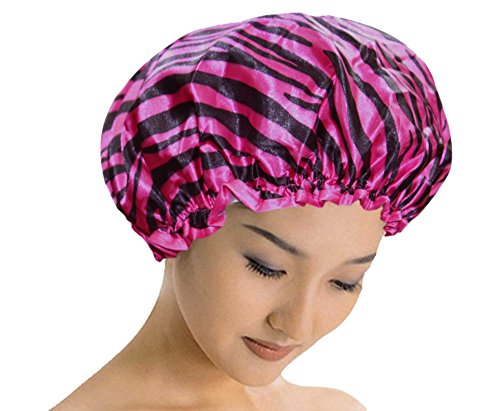 d50d9f47156 Good Quality Reusable Elastic Shower Cap Free Size Cap For Adults