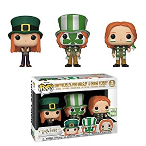 Funko Pop Pack Ron, Fred y George en la Copa de Quidditch (Harry Potter) Funko Pop Harry Potter