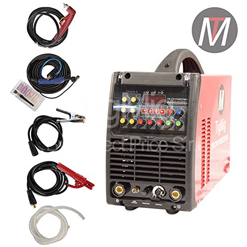TM 230Powermix–Inverter Multi Processo 4x 1–Soldadura TIG ac-dc-mma-plasma