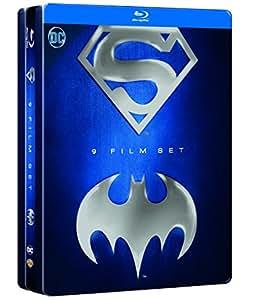 Batman/Superman Anthology Tin (9 Blu-Ray)