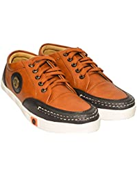 Johnnie Boy Stylish Sneakers Men – Fashionable Comfortable Men Sneakers For Casual Use Party Wear – Brown Fashion...