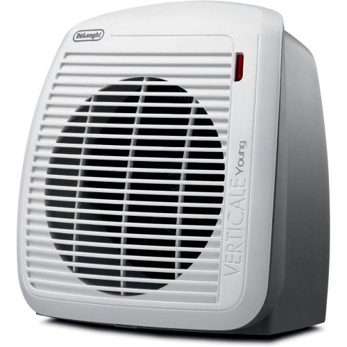DeLonghi HVY1030 1500-Watt Fan Heater - Gray with White Face Plate by DeLonghi