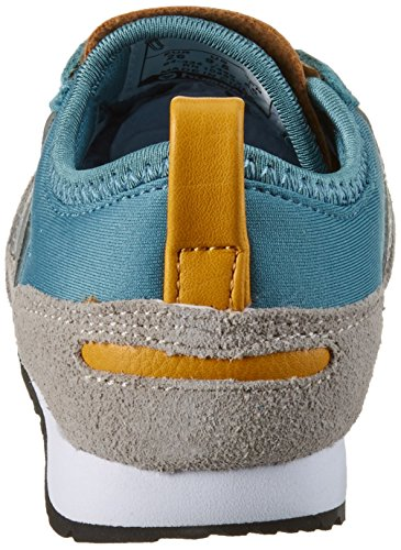 Hummel Reflex Slim Jr, Sneakers Basses Mixte Enfant Bleu (Stone Blue)