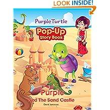 Purple Turtle - Purple and the Sand Castle