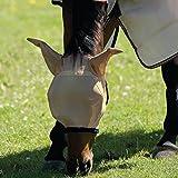 Horseware Masque anti-mouches Amigo Fly Mask–Bronze/Bleu Marine, dimensions: Small Pony (XS)